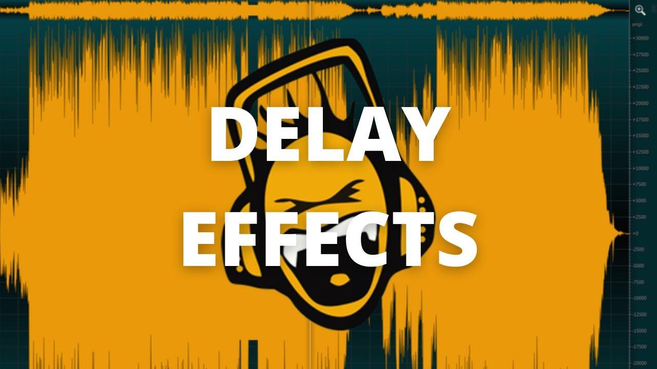 ocenaudio - 10 -  Delay Effects