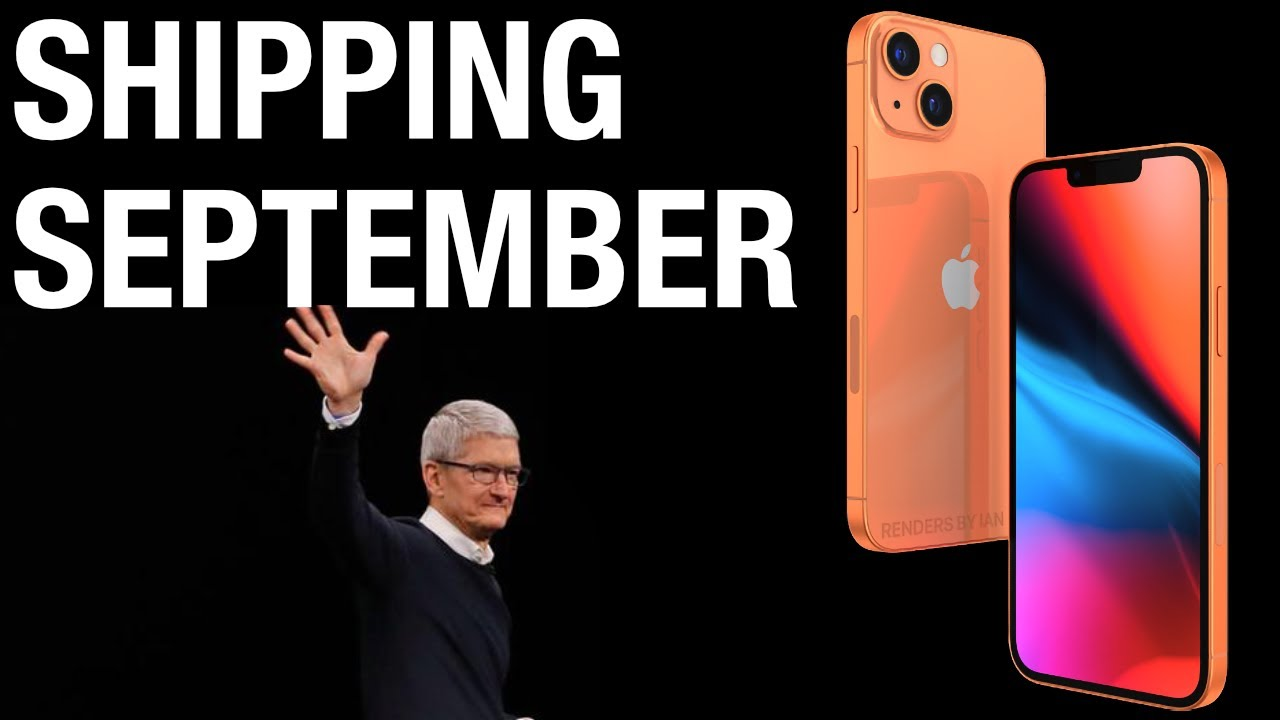iPhone 13 Latest LEAKS! - It's Almost Here!