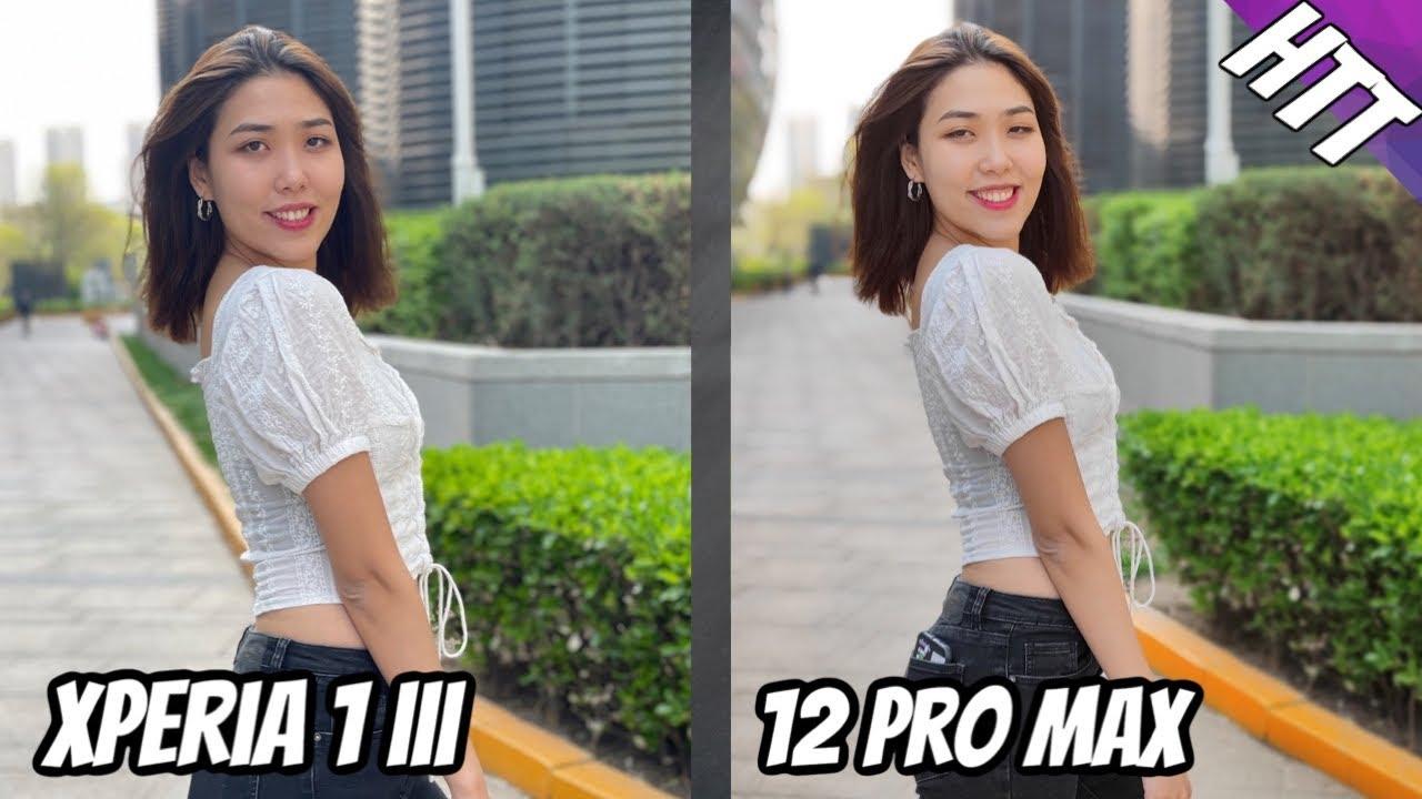 Sony Xperia 1 III vs iPhone 12 Pro Max Detailed Camera Comparison