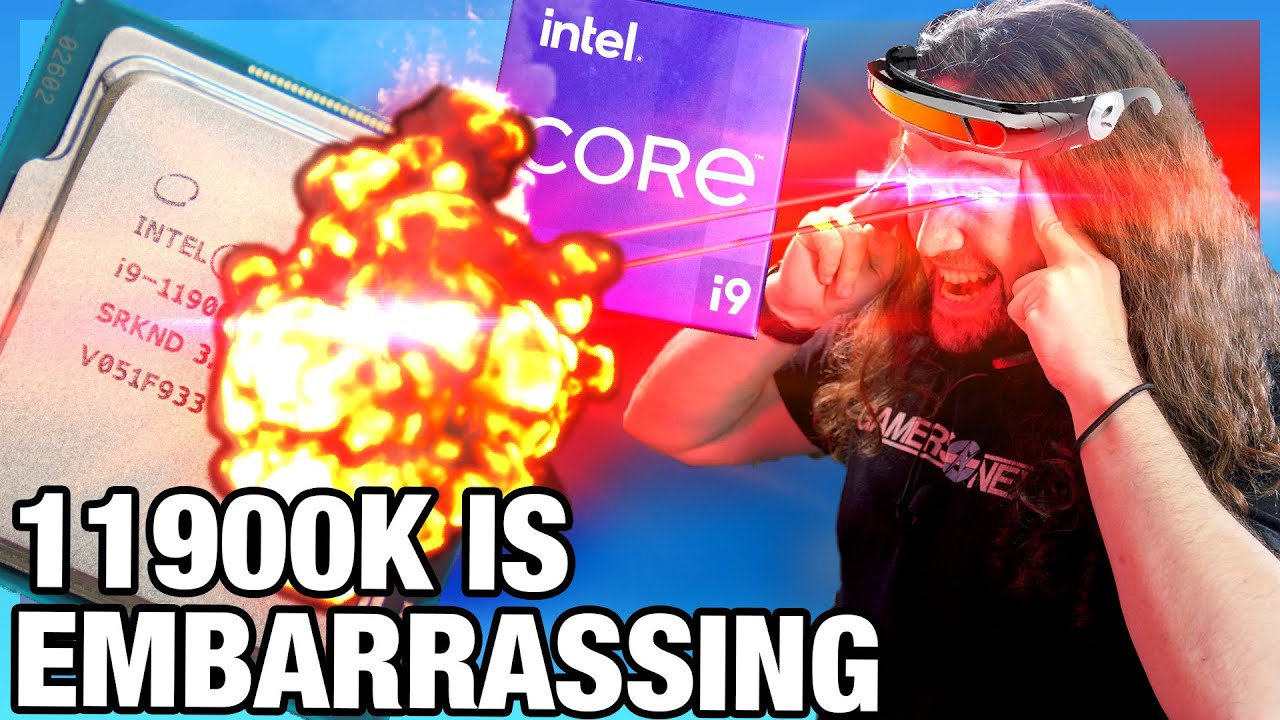 Pathetic: Intel Core i9-11900K CPU Review & Benchmarks: Gaming, Power, Production