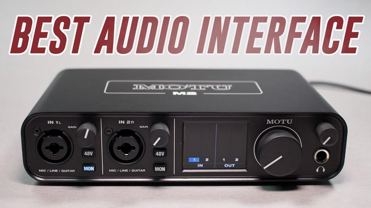 MOTU M2 Audio Interface Review / Test / Explained