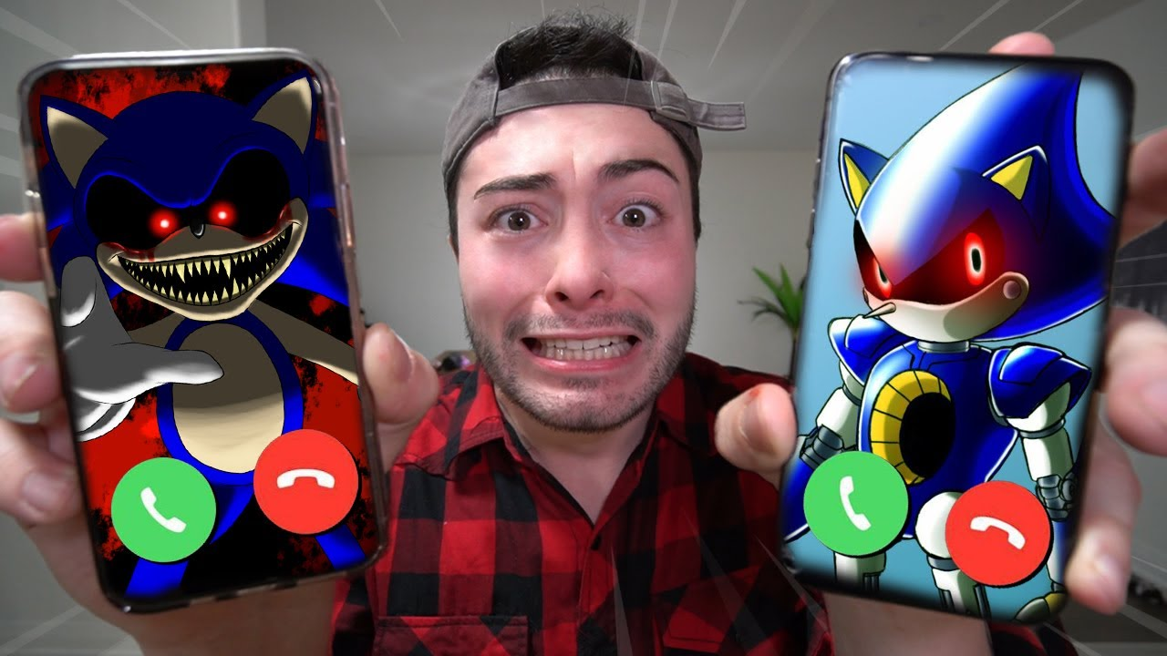CALLING SONIC.EXE AND METAL SONIC AT THE SAME TIME ON FACETIME AT 3 AM!! (THEY FOUGHT!!)
