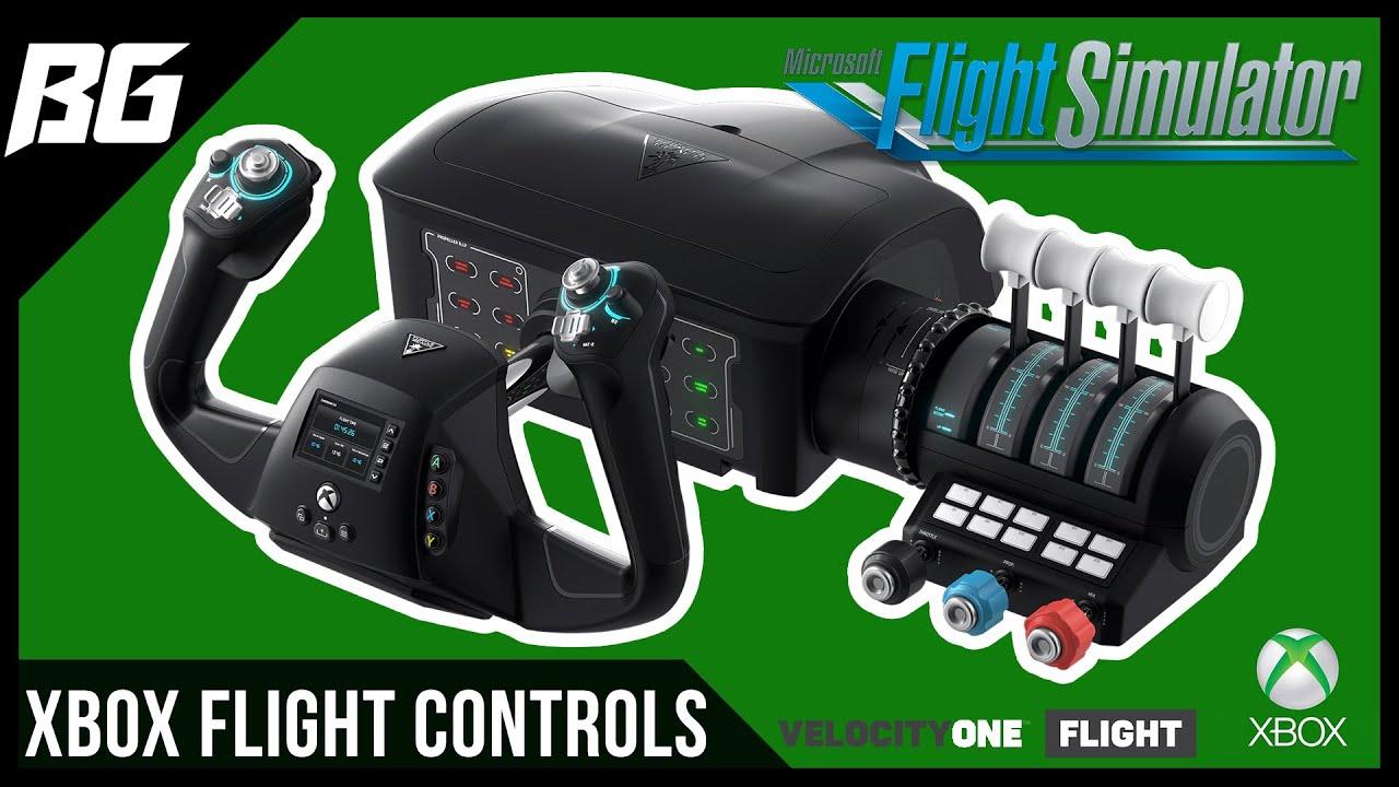 New Flight Sim Yoke & Flight Controls for Microsoft Flight Simulator Xbox Series X|S, Xbox One & PC
