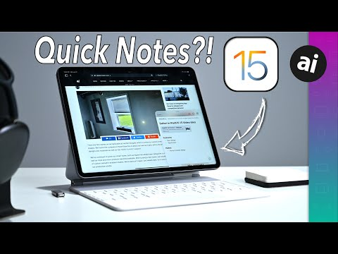 Is Quick Notes the Best New Feature of iPadOS 15???