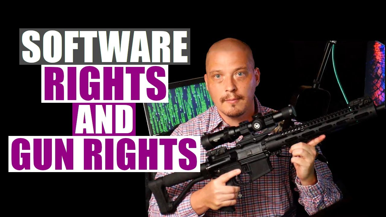 If You Support Free Software, You Should Support Gun Rights