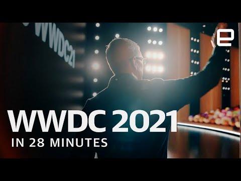 Apple's WWDC 2021 keynote in 28 minutes