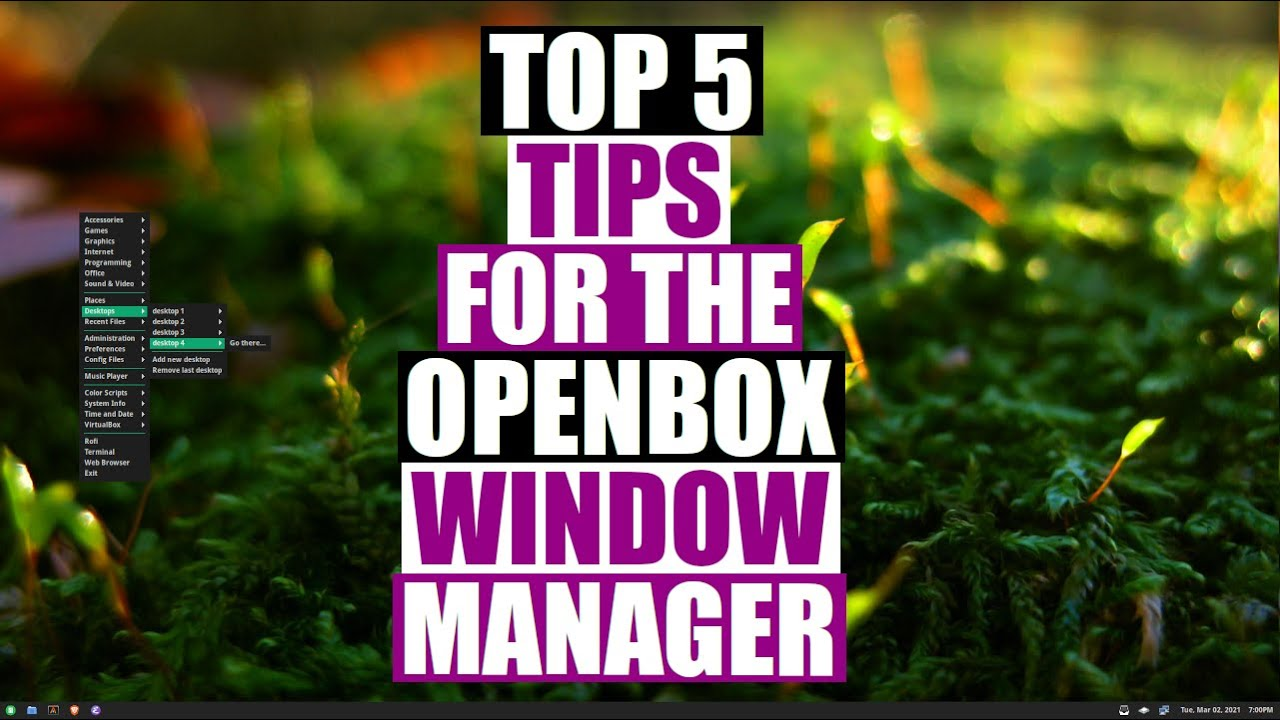 Five Tips For The Openbox Window Manager