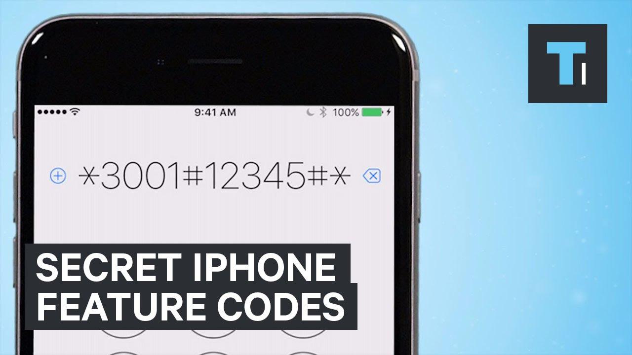 Secret iPhone Feature Codes