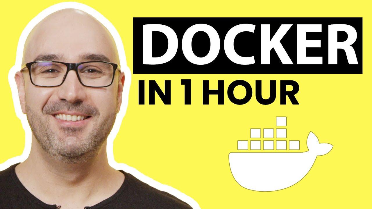Docker Tutorial for Beginners [2021]