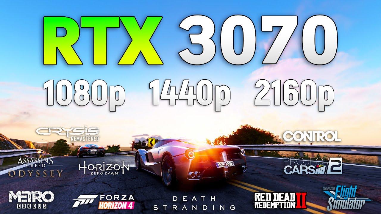 GeForce RTX 3070 Test in 10 Games l 1080p l 1440p l 2160p l