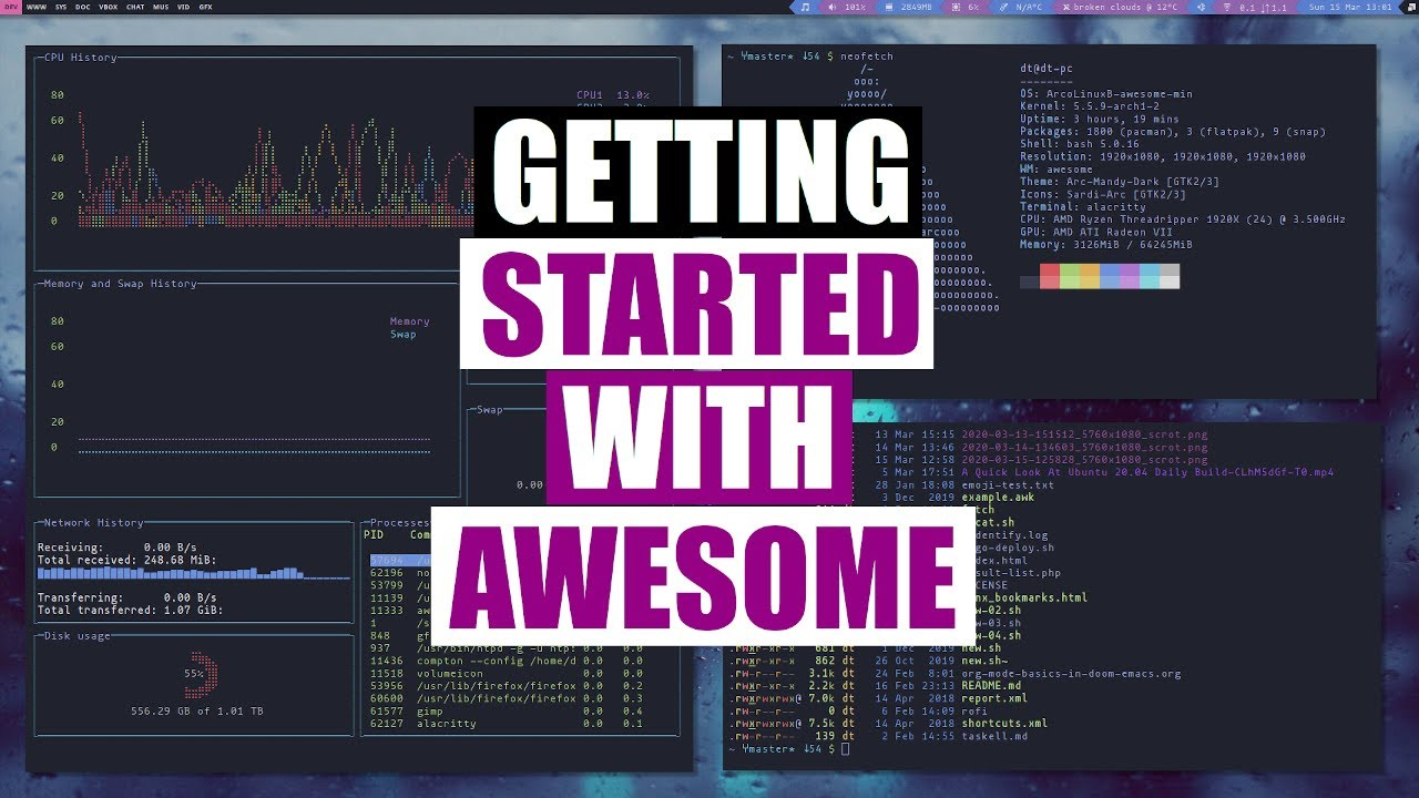Getting Started With Awesome Window Manager