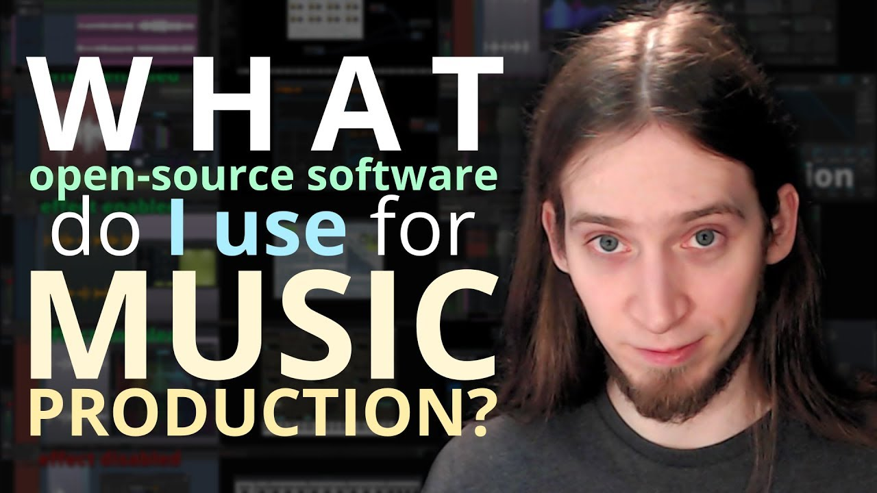 Free and open-source software I use for music production