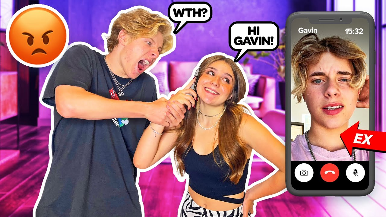 FACETIMING My EX in Front of My BOYFRIEND **He Got Mad**❤️🩹 | Piper Rockelle