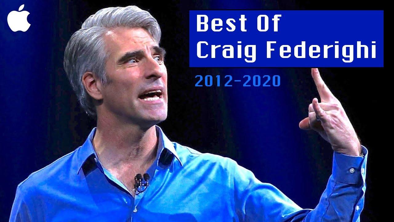 Craig Federighi Best Moments | 2012-2020