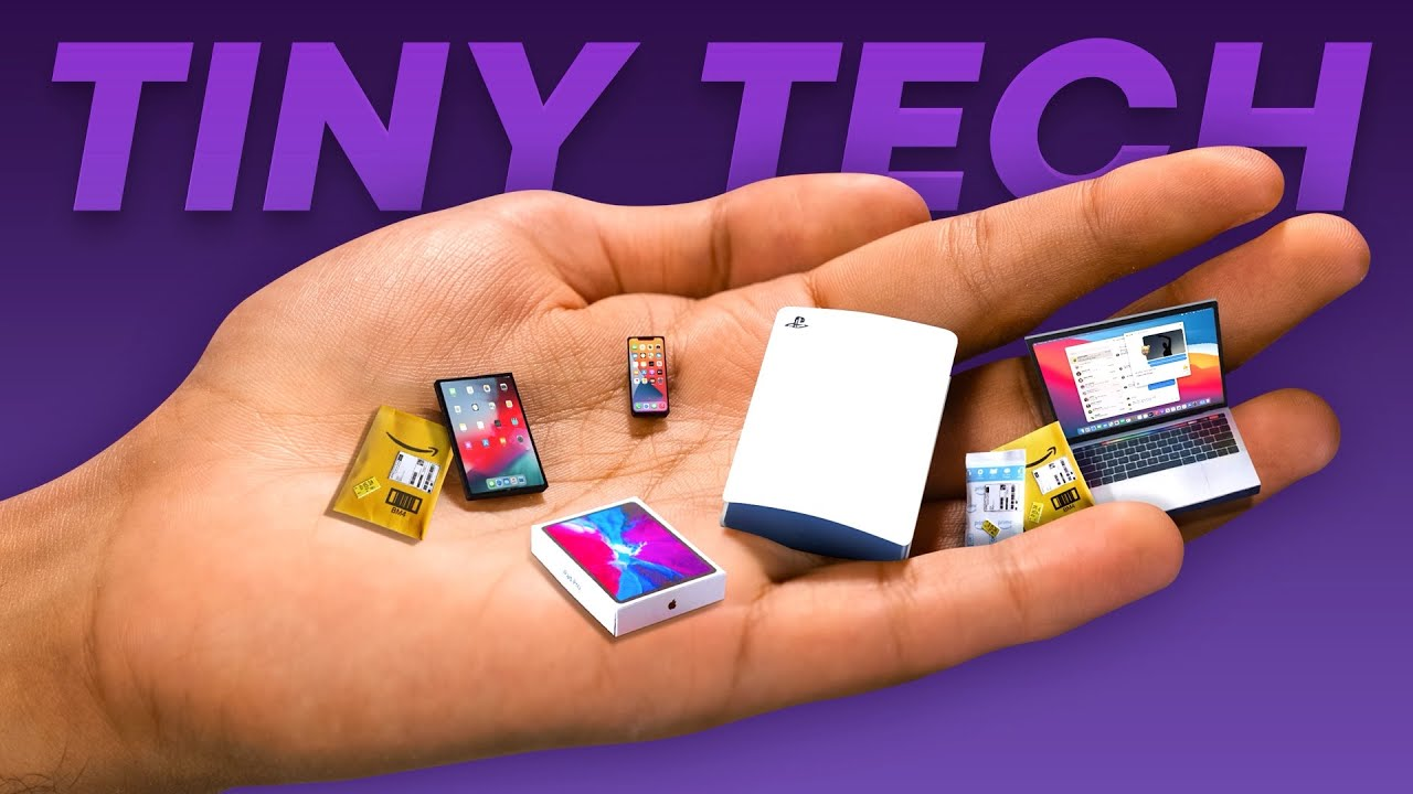 I bought the SMALLEST Tech in the world.