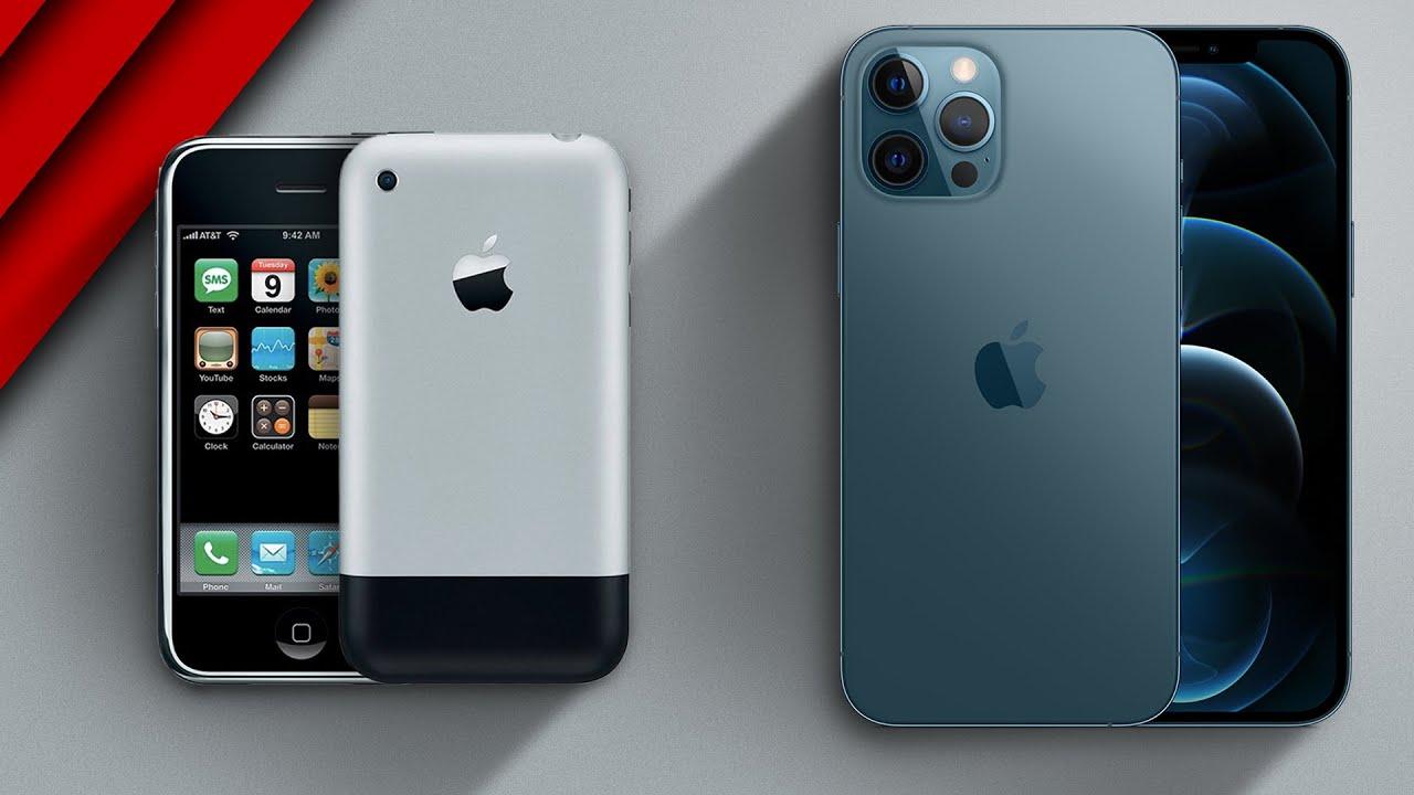 Original iPhone (2007) vs. iPhone 12 Pro Max: Was sich in 13 Jahren verändert hat