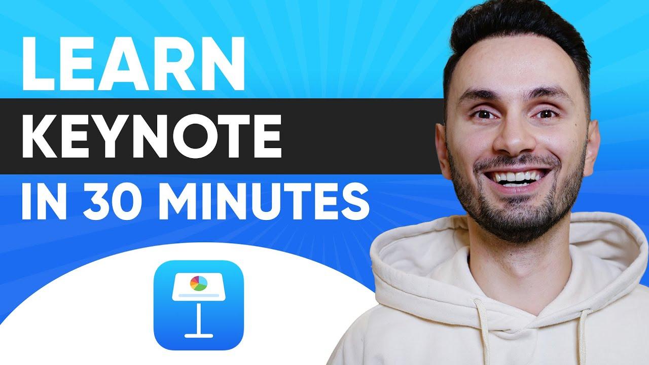 📖 Complete Beginner's Guide to Apple Keynote