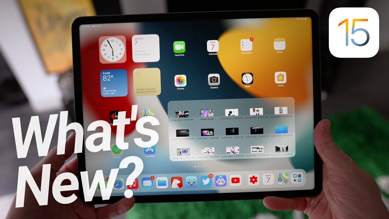 iPadOS 15 FIRST LOOK & Hands On! Is It ENOUGH?
