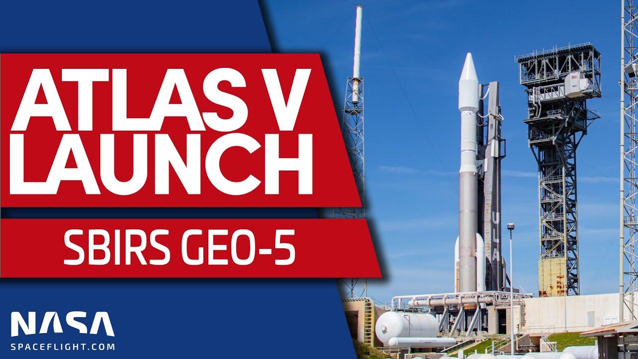 ULA's Atlas V rocket launches SBIRS GEO-5
