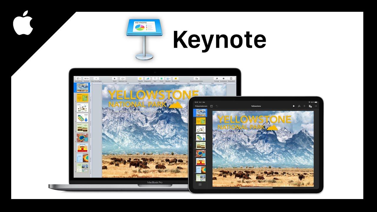 Apple Keynote (Das Große Tutorial) Einfach Präsentationen erstellen