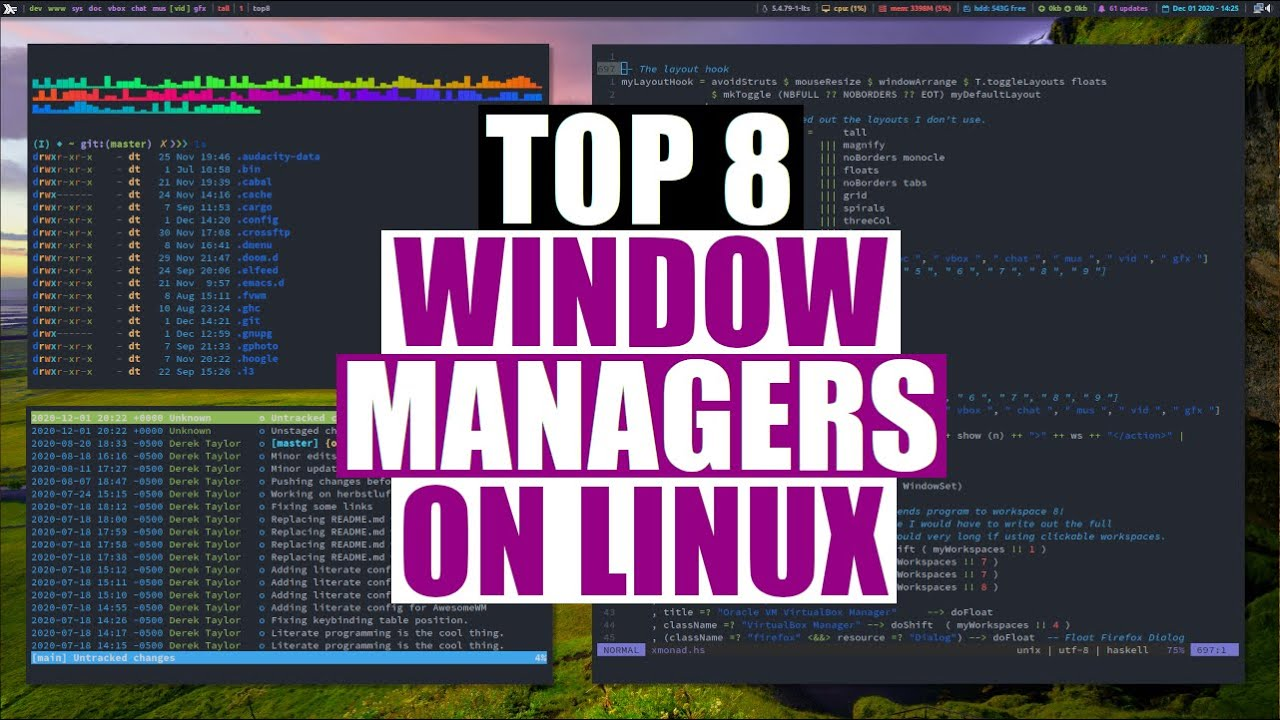 The Top 8 Linux Window Managers of 2020