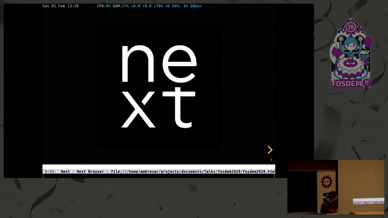 Next, the programmable web browser How the architectural choices and the Lisp language make for an …