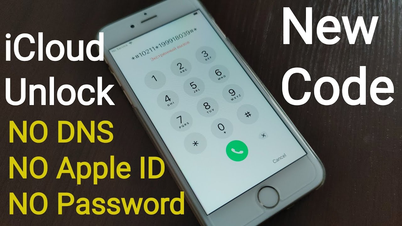 impossible bypass iCloud Activation lock Unlock without Apple ID/DNS/Password New CODE All Models