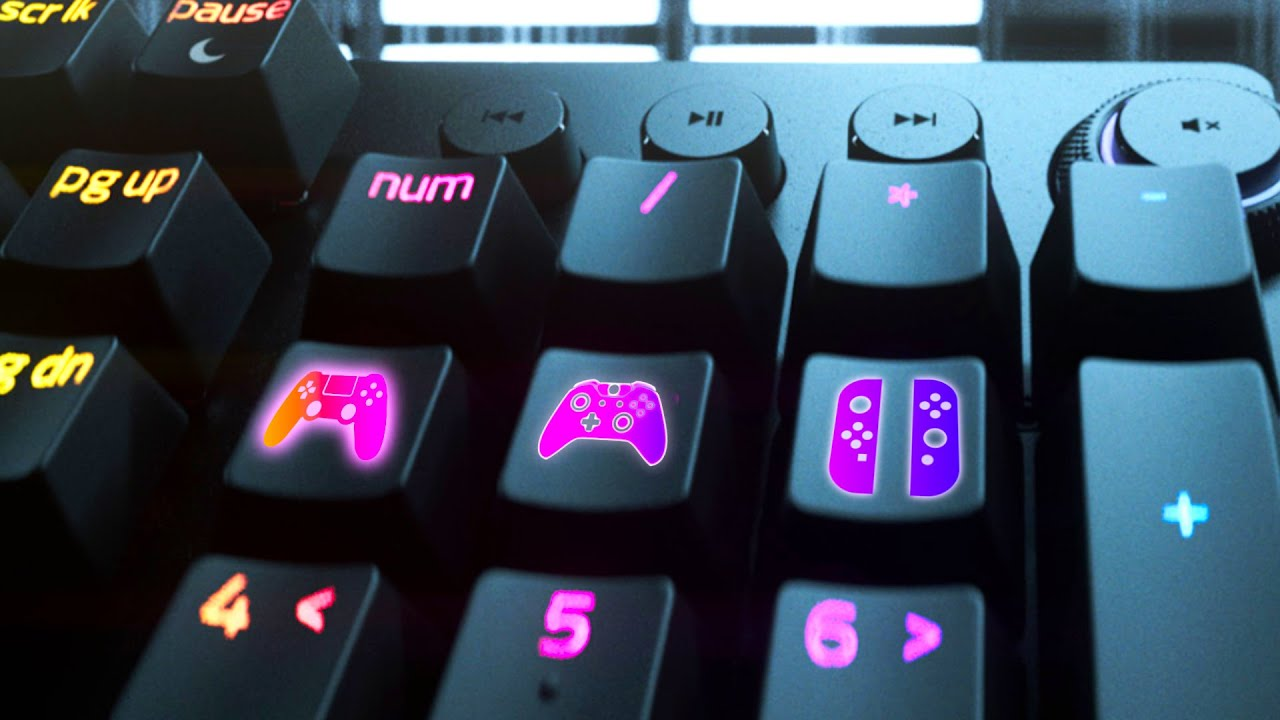 This Razer keyboard is a game controller! MYSTERY TECH