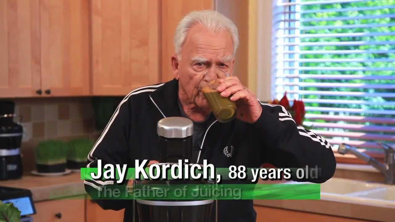 Jay Kordich makes Raw Potassium Broth