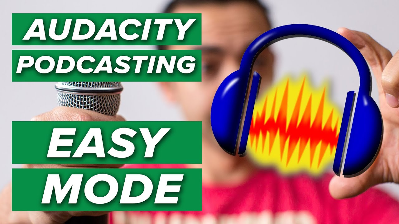 How to Record and Edit a Podcast in Audacity (Complete Tutorial)
