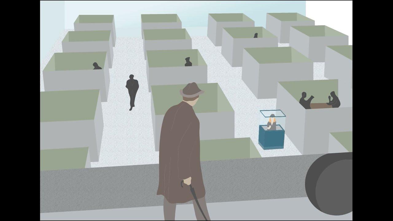 Jacques Tati - Playtime Movie Trailer and Examination