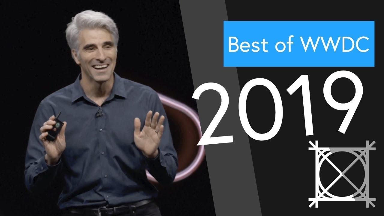 Craig Federighi goes dark - Best of WWDC 2019 Supercut